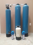 Whole-House Water Filter System Single-Tank - Chemical Reduction with Backflushing Head